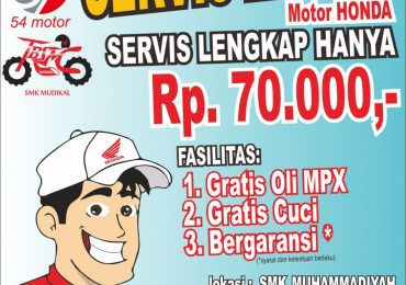 Servis Murah SMK Muhammadiyah Pekalongan