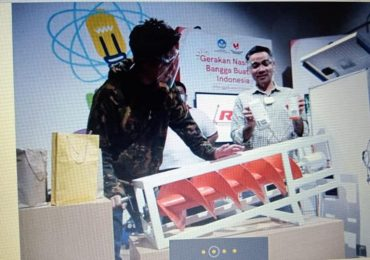 TENNA-r MUDIKAL terbit di Majalah Vokasi Mendiknas. Alat ya sempat dicoba Dirjen Vokasi Bp. SUKAMTO dan artis BAIM WONG.