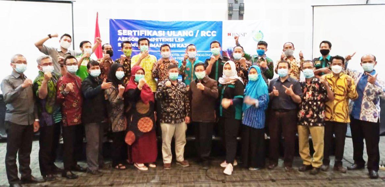 LSP-P1 SMK Muhammadiyah Pekalongan kirim 10 Askom untuk RCC